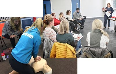 First aid at work training Bangor