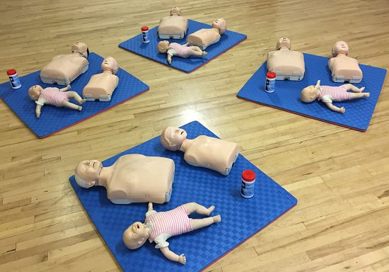 FIRST AID AT WORK TRAINING COURSE NEWTOWNARDS